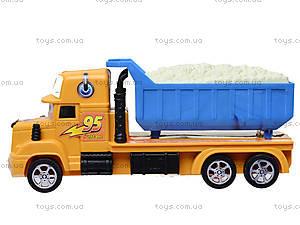 Детский инерционный грузовик «Тачки», 678, фото