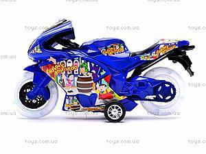 Детский инерционный мотоцикл, 007-909, отзывы