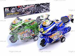 Детский инерционный мотоцикл, 007-909, цена
