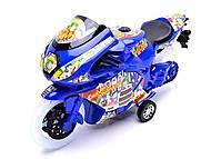 Детский инерционный мотоцикл, 007-909, фото