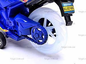 Детский инерционный мотоцикл, 007-909, детские игрушки