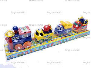 Детский инерционный паровоз, 101003-U, купить