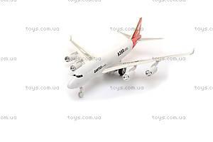 Детский инерционный самолетик, A380-71
