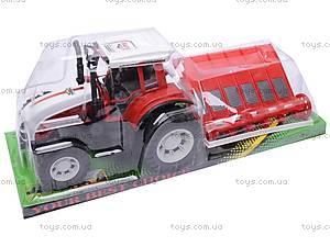 Детский инерционный трактор, 0488-94/95/96, цена