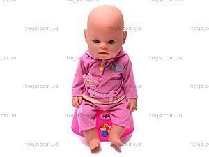 Детский интерактивный пупс Baby Doll, 8001-4, фото