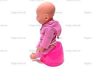 Детский интерактивный пупс Baby Doll, 8001-4, детские игрушки