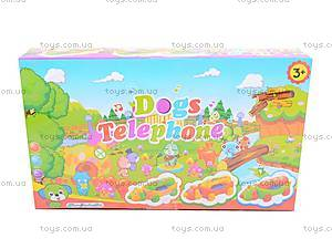 Детский интерактивный телефон, 6659B, цена