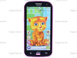 Детский интерактивный телефон «Кот Том», DB1883G2, фото