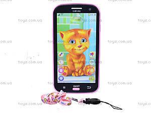 Детский интерактивный телефон «Кот Том», DB1883G2, отзывы