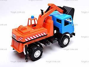 Детский КамАЗ «Экскаватор», 495, игрушки