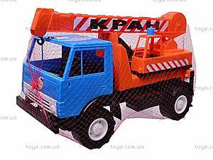 Детский КамАЗ «Кран», 860, цена