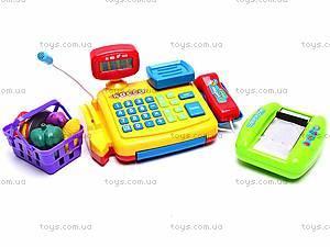 Детский кассовый аппарат «Мой магазин», 7018