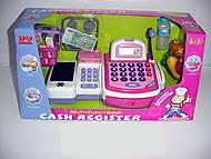Детский кассовый аппарат, музыкальный, 2816C, детские игрушки