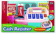 Детский кассовый аппарат, розовый, K30262, фото