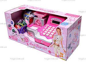 Детский кассовый аппарат, с продуктами, FS-34438, купить