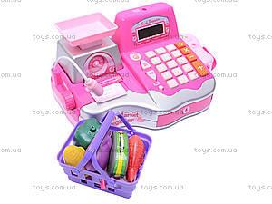 Детский кассовый аппарат, с продуктами, FS-34438