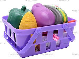 Детский кассовый аппарат, с продуктами, FS-34438, детские игрушки