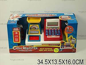 Детский кассовый аппарат с весами, 34450