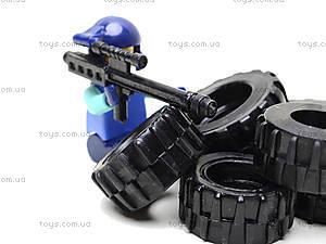 Детский конструктор Advanced Troop «Военная база», 2118, іграшки