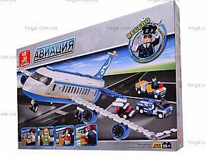 Детский конструктор «Авиация», M38-B0366R, детские игрушки