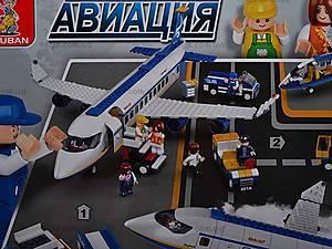 Детский конструктор «Авиация», M38-B0366R, магазин игрушек