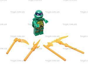 Детский конструктор «Черепашки-ниндзя», 79103, отзывы