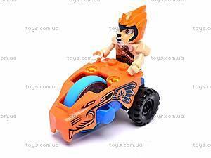 Детский конструктор «Герой на мотоцикле», 77773, отзывы