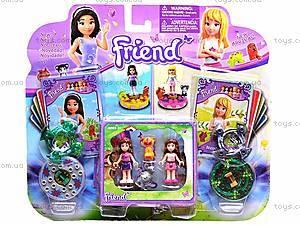 Конструктор для девочек «Друзья», 41037, отзывы
