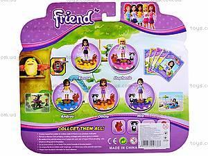 Конструктор для девочек «Друзья», 41037, детские игрушки