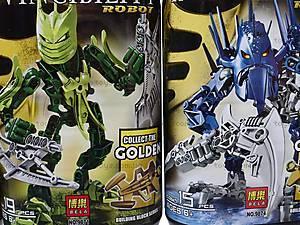 Детский конструктор Invincibility Robot, 9870-9875, купить