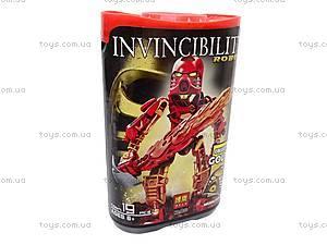 Детский конструктор Invincibility Robot, 9870-9875, фото