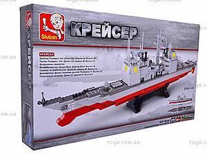 Детский конструктор «Крейсер», M38-B0389R, купить