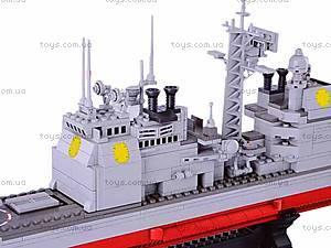 Детский конструктор «Крейсер», M38-B0389R, фото