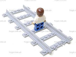 Детский конструктор «Локомотив», 666 деталей, 25904, іграшки