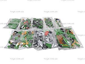 Детский конструктор «Локомотив», 666 деталей, 25904, детские игрушки