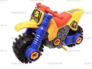 Детский конструктор «Мотоцикл», 876, фото