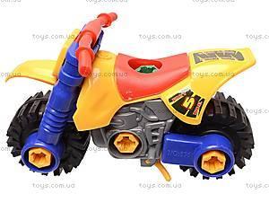 Детский конструктор «Мотоцикл», 876, игрушки