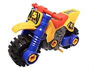 Детский конструктор «Мотоцикл», 876