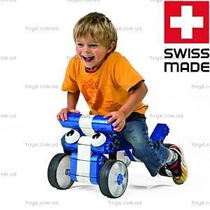 Детский конструктор MultiCar L, синий, 1100, магазин игрушек
