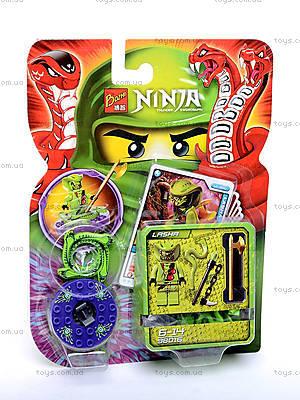 Детский конструктор «Ниндзя», с героем, 98011-98016