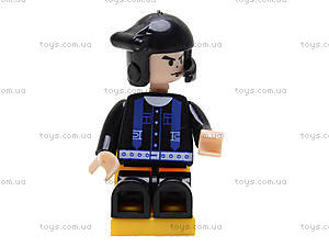 Детский конструктор «Пассажирский вертолет», M38-B0363R, іграшки