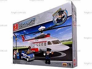Детский конструктор «Пассажирский вертолет», M38-B0363R