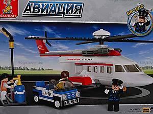 Детский конструктор «Пассажирский вертолет», M38-B0363R, купить