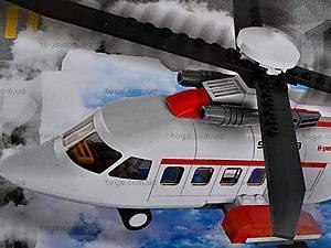 Детский конструктор «Пассажирский вертолет», M38-B0363R, детские игрушки