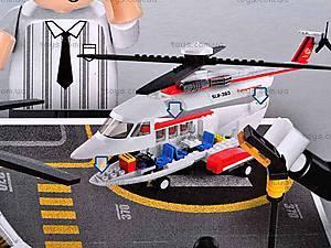 Детский конструктор «Пассажирский вертолет», M38-B0363R, магазин игрушек