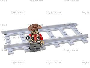 Детский конструктор «Поезд с вагонами», 25902, детский