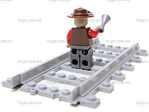 Детский конструктор «Поезд с вагонами», 25902, игрушка