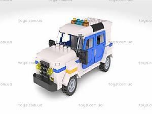 Детский конструктор «Полицейская машина», BB-8824-R