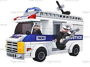 Детский конструктор «Полицейский патруль», 23415, отзывы