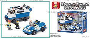 Детский конструктор «Полиция», M38-B0189R, купить